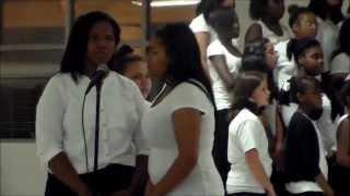 Moore Middle School Chorus Fall 2014