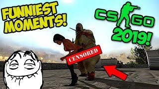 NAJLEPSZE MOMENTY 2019! - CS:GO FUNNIEST MOMENTS
