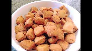 खस्ता शक्करपारा बनाने की विधि | Shakar Para Recipe in Hindi | शंकरपाली ची रेसिपी | Diwali Recipes
