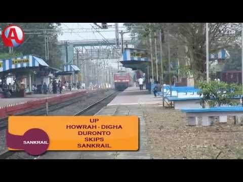 SER: 12847 Up HOWRAH - DIGHA DURONTO Express Skipping Sankrail - 18/2/2015