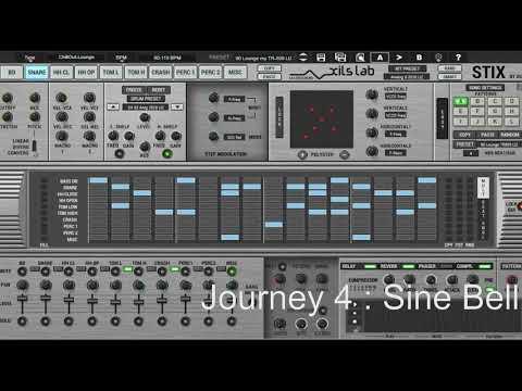 Advanced Drum Synthesis with StiX Drum Machine v1 5