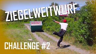 Dachdecker / Challenge #2 Ziegelweitwurf / Wer wirft weiter?