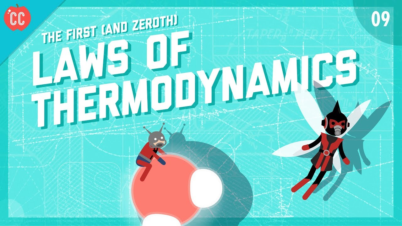 The First & Zeroth Laws of Thermodynamics: Crash Course Engineering #9