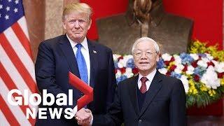 Trump meets Vietnamese President, PM, witnesses major deal signing