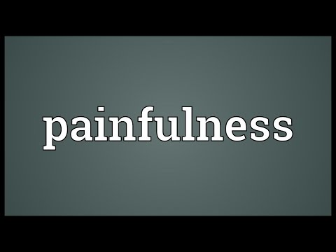 Header of painfulness
