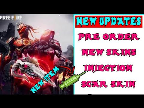 FREE FIRE 5 AMAZING UPDATES | PRE ORDER AND NEW AIRDROP | NEW EVENT | TELUGU GAMING ZONE