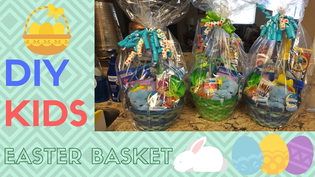 Diy easter baskets for kids youtube diy easter baskets for kids negle Choice Image