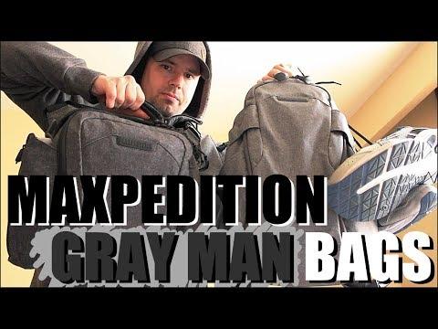 Perfect Gray Man EDC Bags? Maxpedition Entity 21 Backpack & Crossbody Bag 9L