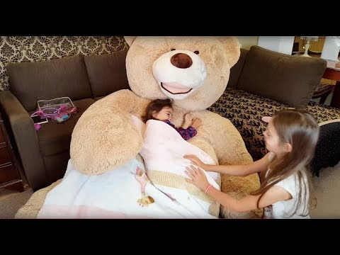 Thumbnail: Playing Doctor with Giant Teddy Bear / Talking Teddy