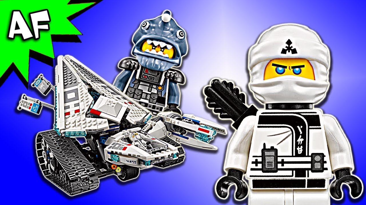 82116e332c26e Lego Ninjago Movie: Zane's ICE TANK 70616 Animation & Speed Build ...