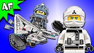 Lego Ninjago Movie: Zane's ICE TANK 70616 Animation & Speed Build