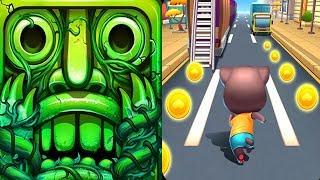 Temple Run 2 Lost Jungle VS Cat Runner-Online Rush Android iPad iOS Gameplay HD