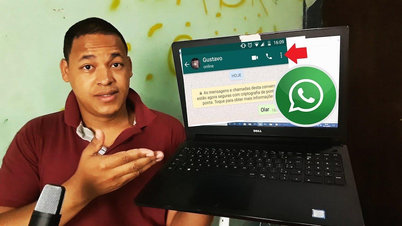 Como Instalar Whatsapp No Pc Ou Notebook Sem Emulador Youtube