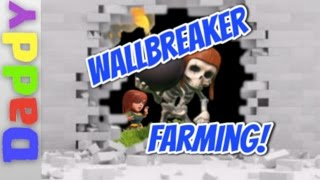 Clash of Clans | Farming with Wallbreakers | Clash of clans lonely troop series