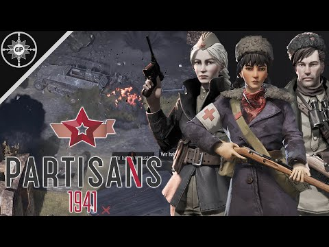 PARTISANS VS ELITE GERMAN FORCES!!! - Partisans 1941 Gameplay |