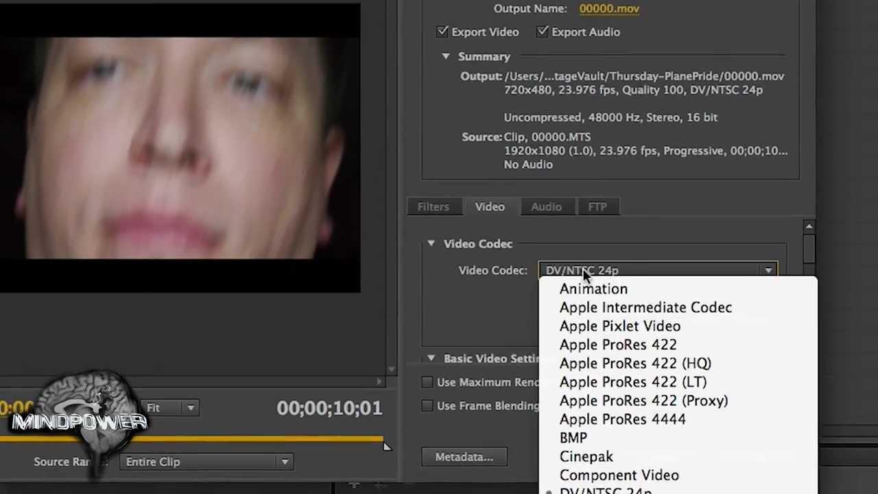 Install apple prores codec mac