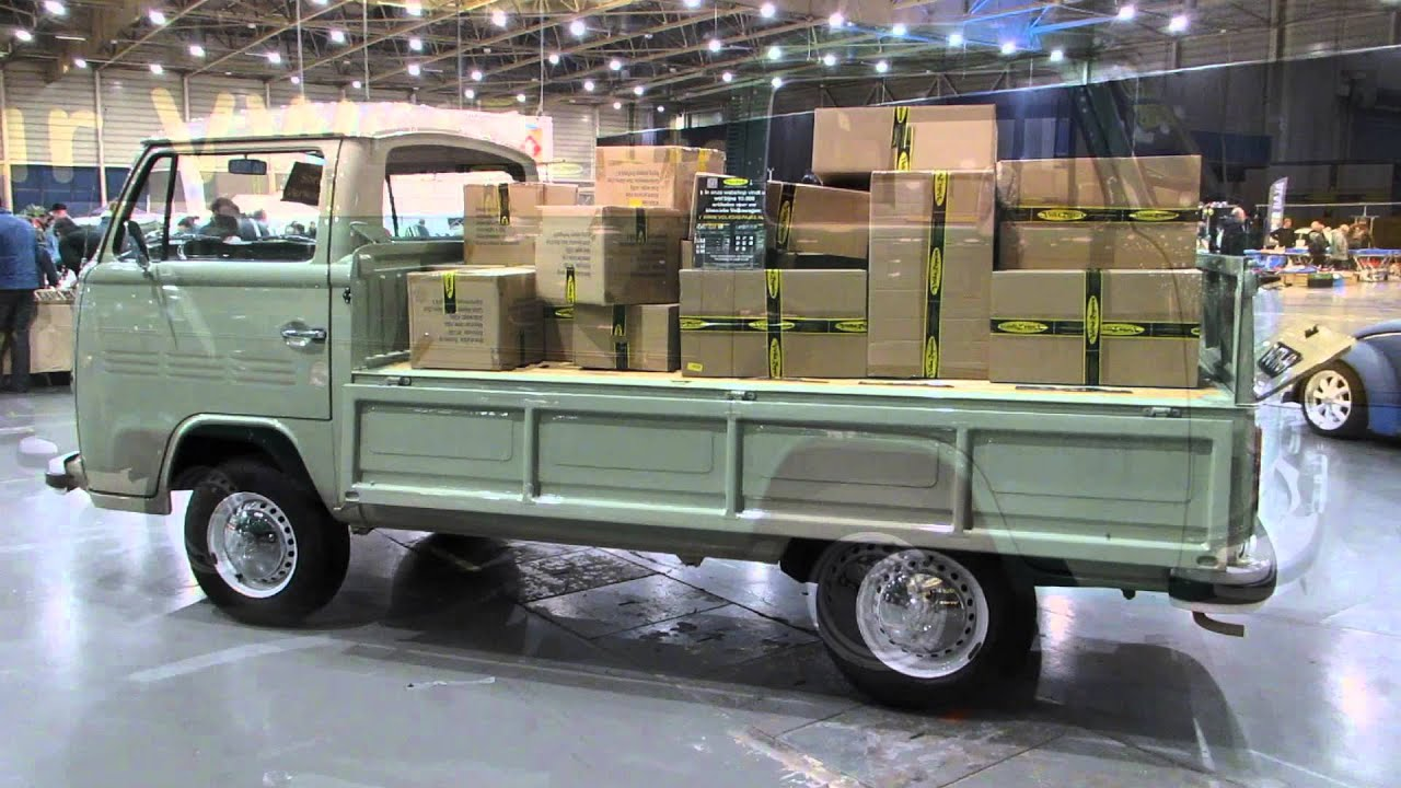 Vw type2 t2 pickup kwf maastricht 2014 youtube for Garage volkswagen condom