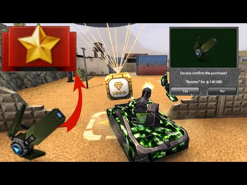 Tanki Online Road To Legend #18 - Booster Drone?!