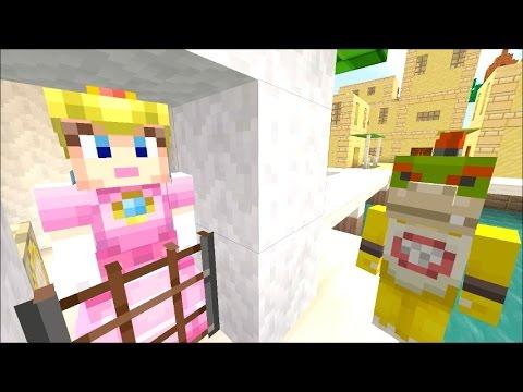 Minecraft Wii U - Super Mario Series - Peach is a MOM? [91]
