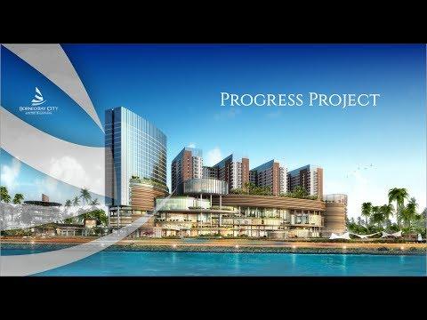 Progress Project Kawasan Borneo Bay City Mei 2017