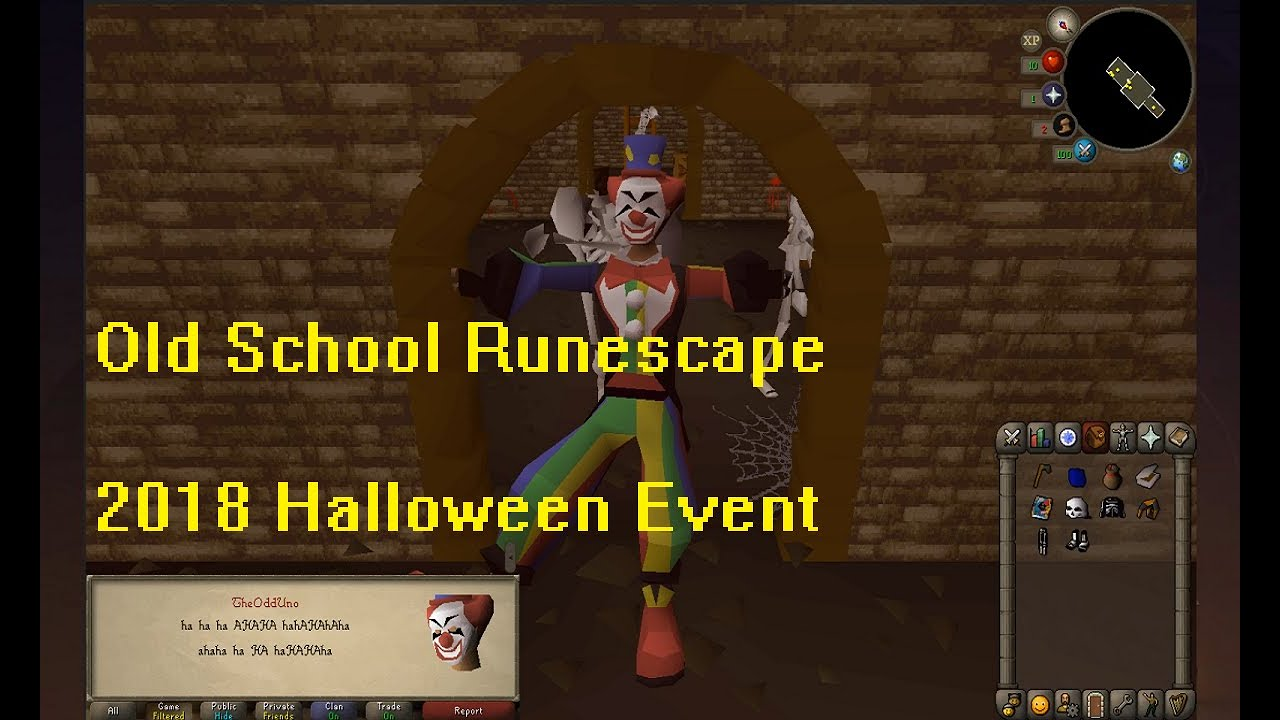 Old School Runescape 2020 Halloween Event Old School Runescape   2018 Halloween Event   YouTube