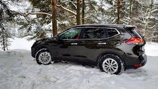 дизельный Nissan X-Trail (1.6 dCi) 2019  короткий обзор/отзыв  розыгрыш флешки Nissan