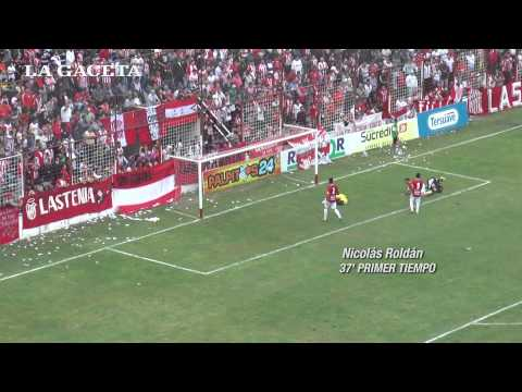 San Martín 1, Concepción FC 1. Los goles.