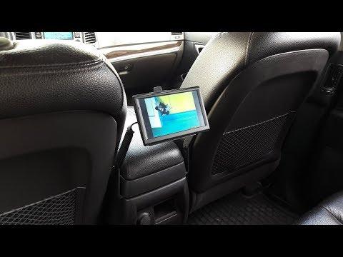 Кронштейн для монитора на подлокотник авто своими руками.