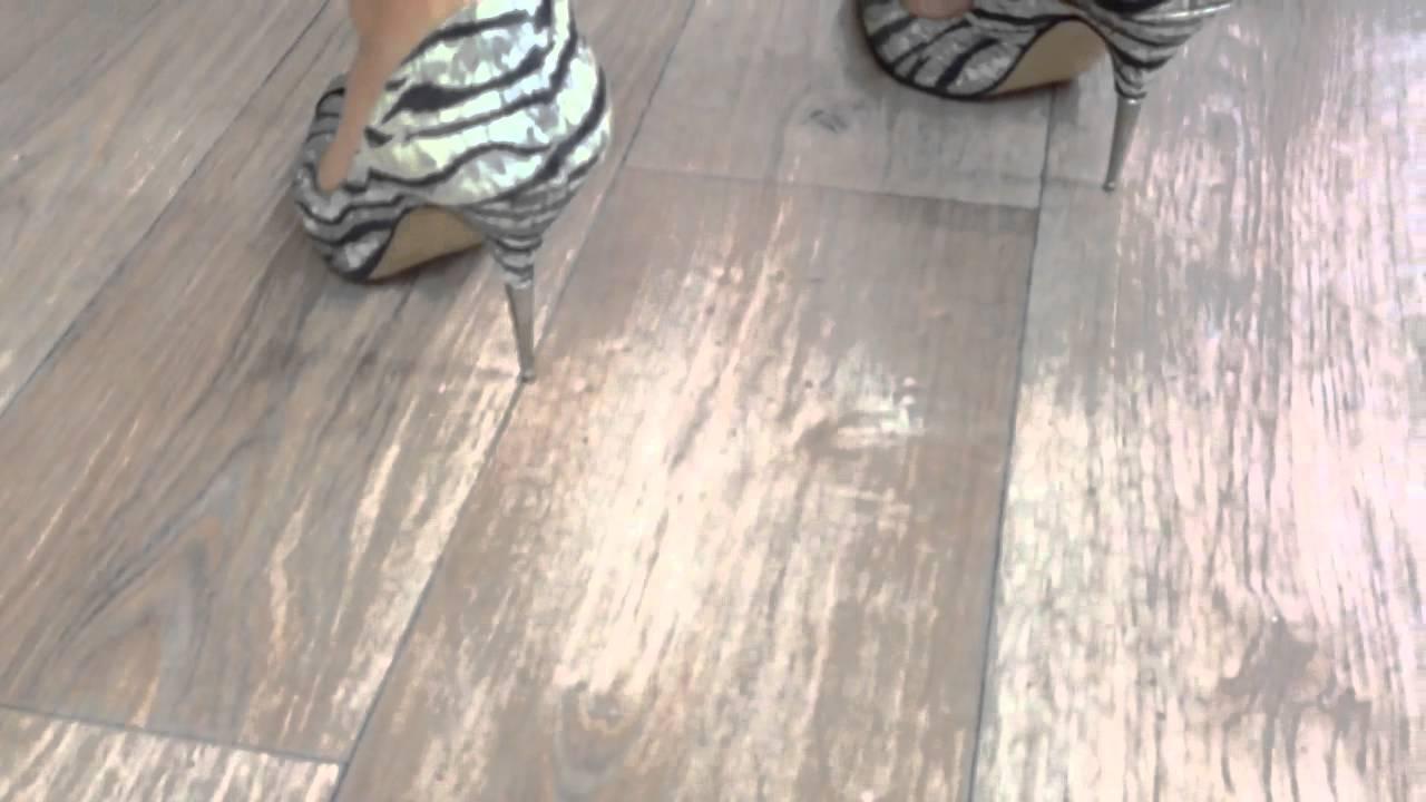 Spike Heels On Linoleum Floor Doovi