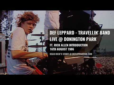 Def Leppard Introduce Rick Allen At Donington 16th August 1986