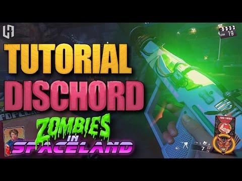 Como montar a arma especial DISCHORD no Zombies in Spaceland! (Tutorial Wonder Weapon)