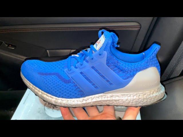 Adidas Ultra Boost 5.0 DNA NASA Football Blue shoes - YouTube