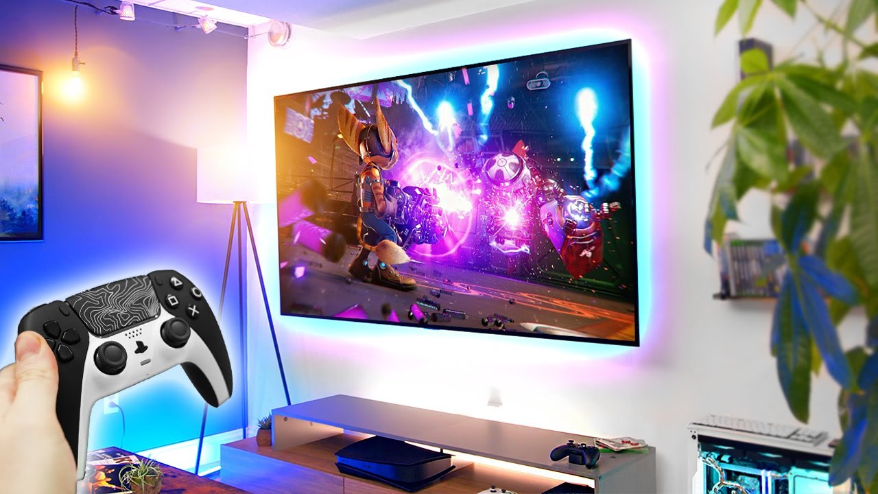 Best 4K TV for PS5, Xbox Series X & PC Gaming! LG C1 77 OLED Review