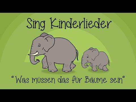 Was müssen das für Bäume sein - Kinderlieder zum Mitsingen | Sing Kinderlieder