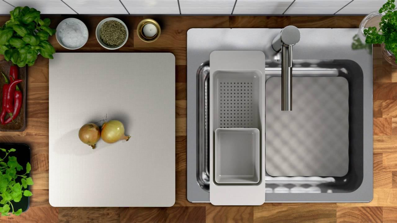 Nieuw Bij Ikea Grundvattnet Spoelbakaccessoires Youtube
