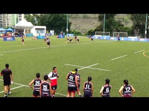 1st Half: Hong Kong v Japan, Touch Mixed Open Test Match