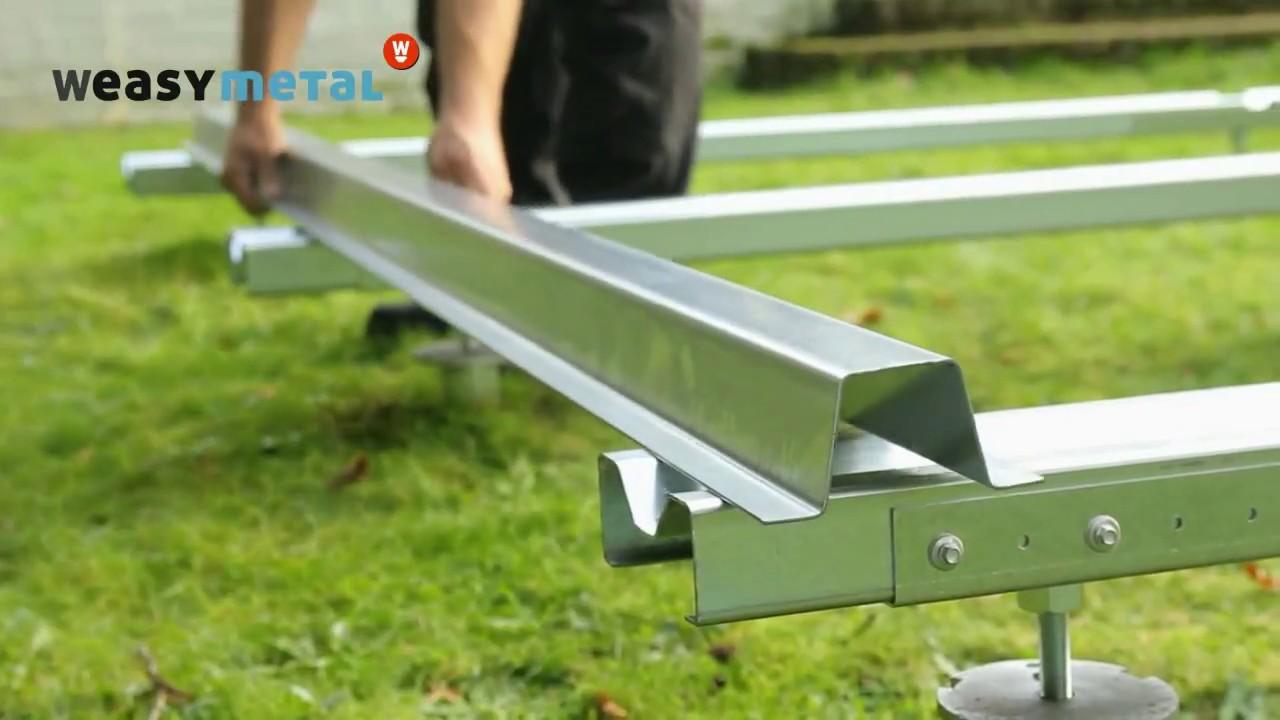 Ossature Métallique Pour Terrasse Bois structure métal pour terrasse