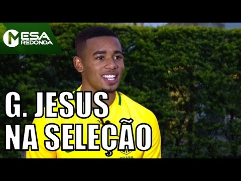 Edmílson Fala De Gabriel Jesus Na Seleção Brasileira - Mesa Redonda (20/11/16)