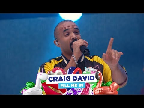 Craig David - 'Fill Me In' (live at Capital's Summertime Ball 2018)