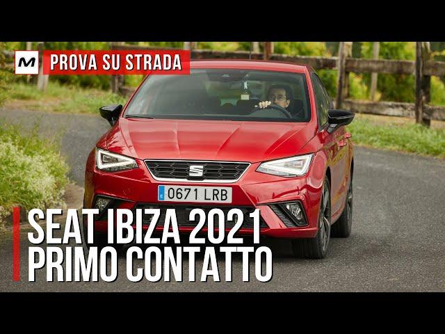 SEAT IBIZA 2021 | Primo contatto con il restyling della best seller spagnola