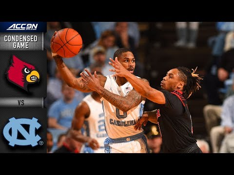 Louisville vs. North Carolina Condensed Game | 2018-19 ACC Basketball