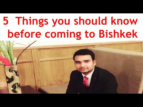 5 Things You Should Know Before Coming To Bishkek: VLOG-2