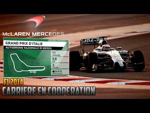 F1 2014 - Grand Prix d'Italie [Carrière coop' 50%]