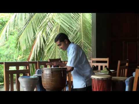 Bongo-Concert Wunderbar Hotel, Bentota, Sri Lanka