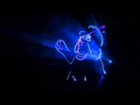 Новогоднее лазерное шоу 2013.wmv