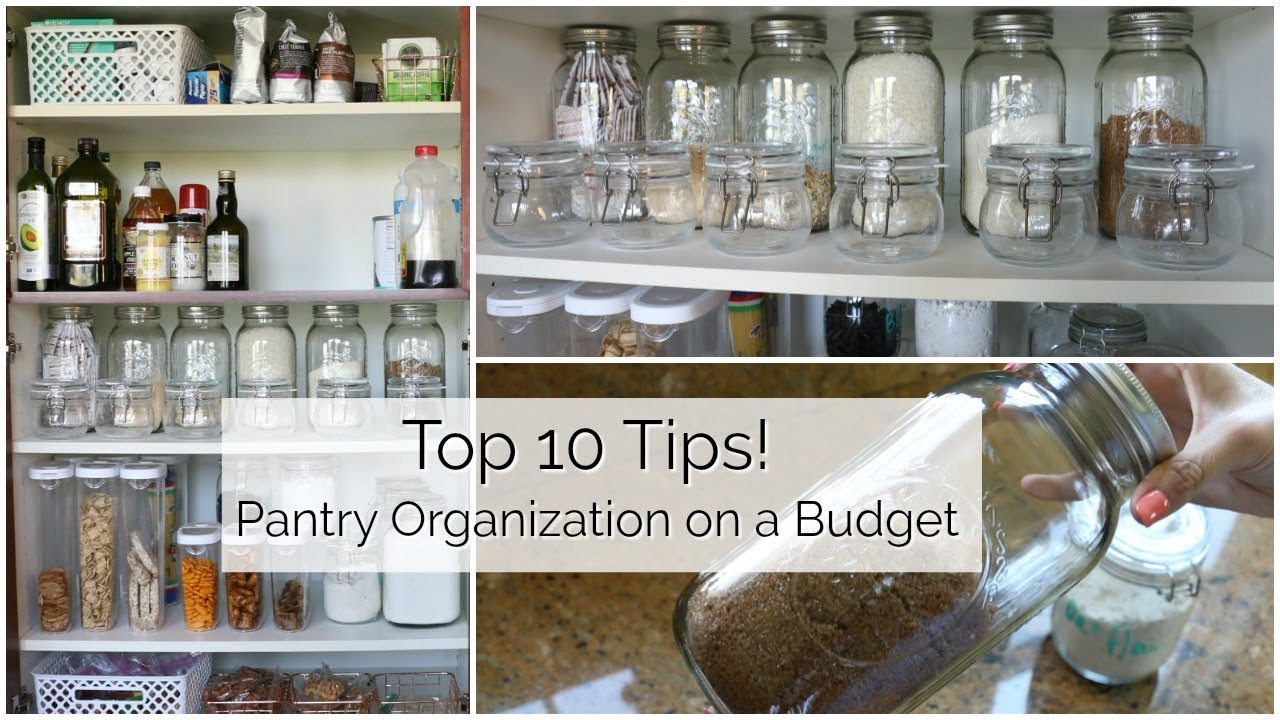 kitchen organization ideas budget 10 tips to organize your pantry on a budget 5436