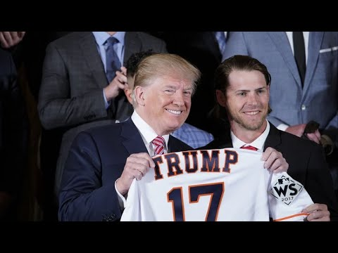 Trump honors Houston Astros for World Series win