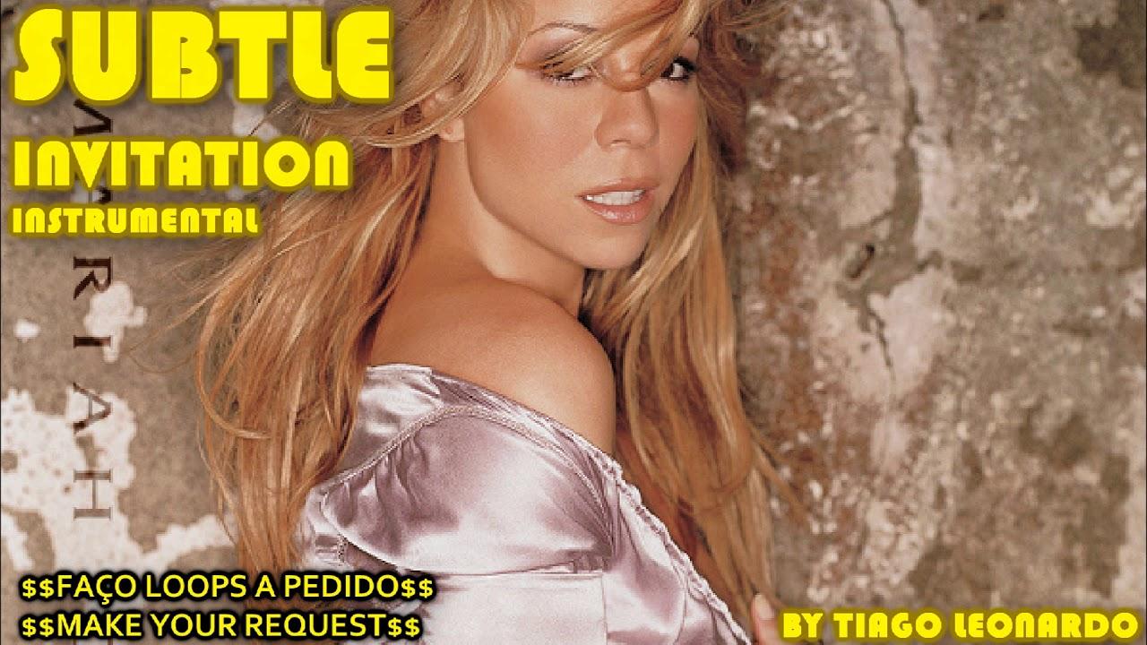 Mariah Carey - Subtle Invitation (Instrumental/Loop) by Tiago leonardo