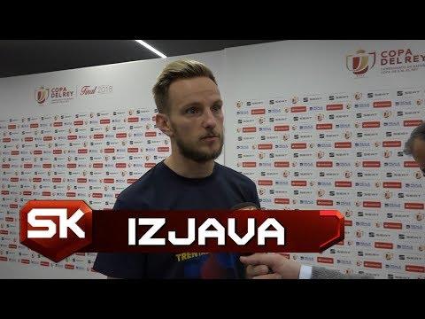 Ivan Rakitić za SPORT KLUB - Inijesta Zaslužio da Ceo Stadion Ustane i Aplaudira