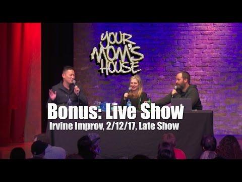 Your Mom's House Podcast LIVE: Irvine Late Show w/ Yoshi Obayashi FIXED AUDIO